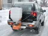 Ein Anbaustreuer für Jeep, Pick-Up und Co.