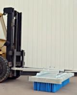 Stapler-Kehrbesen vom Typ SKM bieten bis zu 12 Borstenreihen