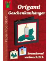 """Neun liebevoll gestaltete Modelle stellt die Broschüre """"Origami Geschenkanhänger"""" vor."""