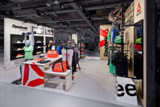 Reebok vereint im Jelmoli Zürich das Thema Fitness mit seiner Reebok Classics Lifestyle-Kollektion.