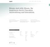 Changing spaces - Die neue Website der D'art Design Gruppe