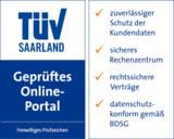 Debitos TÜV Prüfzeichen - Geprüftes Online-Portal