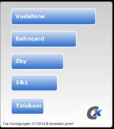 Auf der Hitliste der gekündigten Verbraucher ganz oben: Die Mobilfunkanbieter.
