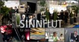 Collage zum SINNflut-Auftritt auf der Interbad 2012