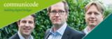 Unternehmensleitung v.L.n.R.: Armin Peiker (CFO), Axel Helbig (CEO), Stefan Belmann (COO)