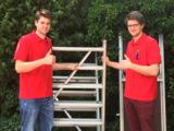 Michael Pleiter (l) und Bastian Pleiter (r)