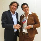 Adrian Hensen, ABSOLVENTA, und Martina Höpfner, VEGA Deutschland