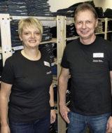 Gründer und Geschäftsführer Michaela Ziser und Paul Röttele