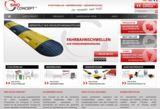 Die Frontpage zur neuen Webseite von Sino Concept.