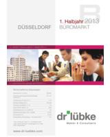 Entwicklung des Büromarktes in H1 2013