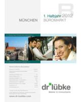 Entwicklung des Büromarktes München in H1 2012