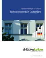Wohninvestments in Deutschland - Transaktionsanalyse Q1-Q4 2015