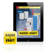 KAISER+KRAFT Katalog jetzt auch als App erhältlich