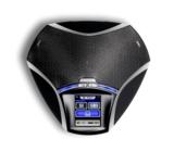 Das Konftel 55W verfügt über Anschlüsse für Tisch- und Mobiltelefone sowie USB und Bluetooth.