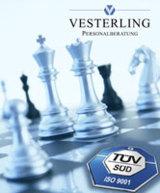 Die Vesterling Personalberatung ist für Ihr Qualitätsmanagement nach ISO zertifiziert worden.