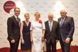 v.l.: Jörg Schlag, Steffanie Schlag, Marga Beckstein, Oskar Schlag, Günther Beckstein (Bild: SMIC!)