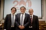 Wolfgang Coerper, Rudolf Edelmann und Dietrich Eckardt leiten die Geschicke der Unternehmensgruppe.