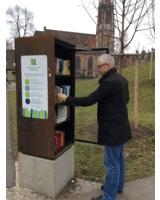 """Der Erlös aus Startgeldern unterstützt das Projekt """"Öffentliche Bücherschränke"""". (Bild: SMIC!)"""