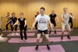 Peter van den Eertwegh beim wöchentlichen Training in der Gruppe