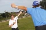 Christian Grüger macht Golfer fit.
