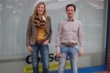 Nutzen alternative Arbeitsplatzmodelle: Heike Ahlers und Jens Wübker