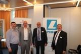 Hans-Gerd Schröder, Andreas Pohl, Lutz Mönig (beide Pohl Consulting Team GmbH), Peter Staudt (BVMW)