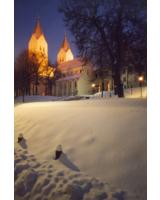 © TouristInfo Freising: Der Dom in einem besonderen Licht