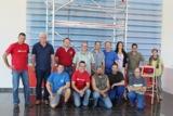 """Gruppenbild aller Teilnehmer der Preisverleihung zu """"Hymer-Idee"""" 2013"""