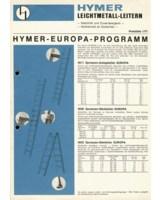 Seit nunmehr 50 Jahren stehen Hymer-Leitern für Qualität und Sicherheit.