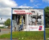 Deutschlandweite Plakataktion für Fachhändler von Hymer-Leichtmetallbau.