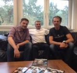 v.l.n.r.: Sebastian Gnewkow (dig dis!), Sascha Baur (Mixmag) und Frank Schreiner (dig dis!)