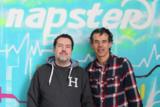 dig dis! Geschäftsführer Frank Schreiner und Napster General Manager Europe Thorsten Schliesche (l.)