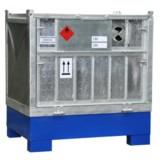 Ein mobiles Gefahrstoff-Depot vom Typ GoStore-Box