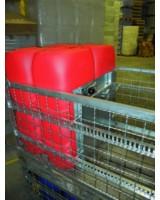 Quick-Box-Aufsatzrahmen mit Ladungssicherung