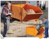 Baustoff-Behälter für Krane für effiziente Baustellen-Logistik