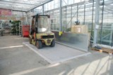 Diesel-Abfüllplatz Typ KPS mit Spritzschutzwand