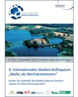 9. Internationales Marken-Kolloquium im Chiemgau