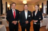 Prof. Dr. Guido Quelle, Hans-Jürgen Herr und Linda Vollberg (Foto v. l. n. r.)