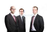 Die Gründer von auxmoney.com: Johnen, Kamp, Kriependorf