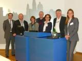Die Referenten Margot Albus (3.v.l.)  und Angela Huber(r.) mit Vertreter des Vereins Befreunden.