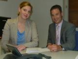 Marcus Staudacher und Astrid Benicke von Formel Zeitarbeit.