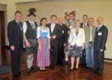Die Teilnehmer der Wirtschaftsdelegation