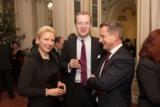 Malte von Trotha, CFO Styria Media Group mit Gattin und Alfred Pufitsch CEO Tele2 Österreich
