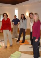 Spiritualität und Alltag mit Ursula Greven im neu aufgebauten Meditationsraum im Odenwald-Institut.