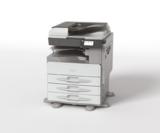 Ricoh präsentiert neue Schwarzweiß-Multifunktionssysteme: MP 2001SP und MP 2501SP.