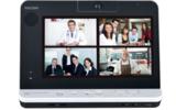 Das Unified-Communications-System P1000 von Ricoh ermöglicht Audio-Video-Konferenzen von unterwegs.