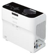 Die Projektoren PJ WX4130 und PJ WX4130N von Ricoh haben die kleinste Stellfläche ihrer Klasse.