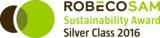 """Ricoh wurde das 2. Jahr in die """"Silver Class"""" der Nachhaltigkeitsratings von RobecoSAM aufgenommen."""