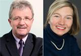 (v.l.) Walter Bernard und Dr. Susanne Kirsch. Quelle: Masternaut