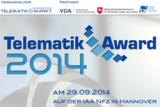 Der Telematik Award 2014  Bild: Telematik-Markt.de